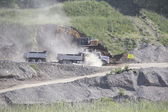 Open Pit Excavation — Stock Photo