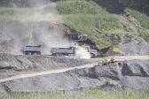 Open Pit Excavation — Stock Photo