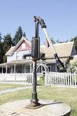 Historic Stewart Farm and Water Pump — Stock Photo