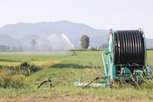 High Pressure Hose and Reel Irrigation — Stock Photo