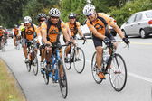 The 2014 RSVP Seattle to Vancouver Cycling Tour — 图库照片