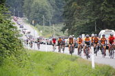 The 2014 RSVP Seattle to Vancouver Cycling Tour — Stock Photo