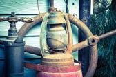 Old lamp, Vintage Hurricane lamp — Stock Photo