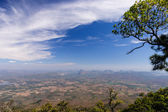 View point from Phukradung National Park — Stock Photo