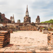 Ancient temple of Ayutthaya — Stock Photo