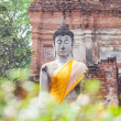Buddha statues at the temple — Stock Photo #32155451