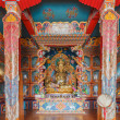 Tibetan Buddhist monastery — Stock Photo