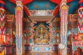 тибетский буддийский монастырь — Стоковое фото
