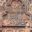 Stone Carved at the Bayon Temple — Stock Photo