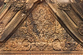 Wall in Angor Wat, Cambodia — Stock Photo