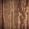 Rusty on zinc metal plate texture — Stock Photo