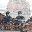 Buddhstatues and Floods — Stock Photo #32207675