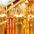 Thai Buddha Golden — Stock Photo