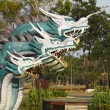 The Three China dragon — Stock Photo