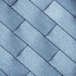 Old tiles roof texture — Stock Photo