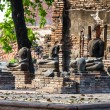 Ruin of Buddha statues in historical park, — Stock Photo #32418323