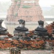 Buddhstatues and Floods — Stock Photo #32418603