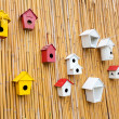 Colorful collection of birdhouses  — Stock Photo #32436093