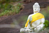 View of buddha statue in Thailand — Stock Photo