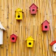 Colorful collection of birdhouses — Stock Photo #32451167