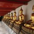 Buddha statues at the temple. — Stock Photo