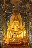 Gyllene buddhas. — Stockfoto