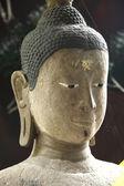 Buda heykelleri tapınağı'nda. — Stok fotoğraf