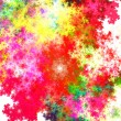 Abstract fractal background — 图库照片
