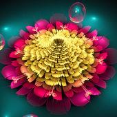 Abstract light flower blossom — Foto de Stock