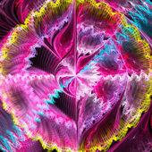 Luz de fondo abstracto fractal — Foto de Stock