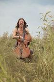 Hudba v přírodě — Stock fotografie