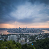 Aerial view of Chongqing, China — Stock Photo