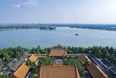 Fågel utsikt över kunming sjön — Stockfoto