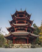 Chinese ancient pagoda — Stock Photo