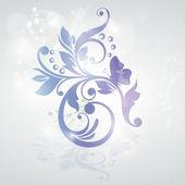 Floral design. — Stock Vector