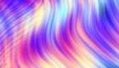 Colorful abstract wide screen wavy pattern — Stock Photo
