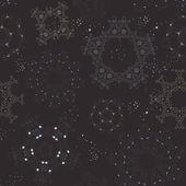 Sömlös snö mönster — Stockvektor