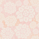 Seamless flower lace pattern — Stock Vector