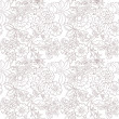 Vintage flower pattern - Stockvektor