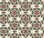 Geometric ornament seamless pattern — Stok Vektör