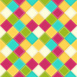 Colorful rhombus background - Stock Vector