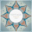 Vintage lace background — Stock Vector