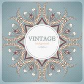 Vintage kant achtergrond — Stockvector