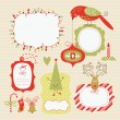 Royalty-Free Stock Vector Image: Set of Christmas and New Year elements