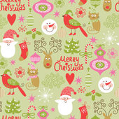 Christmas and New Year's decorative elements — Stock Vector