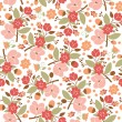 Seamless floral pattern — Stock Vector #33389693