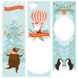 Set of Christmas banners — Stock Vector #35231665