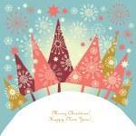 Christmas tree — Stock Vector #7728420