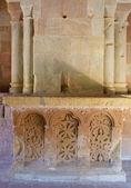 Altar Romanic — Stock Photo