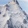 Stock Photo: Aiguille du Midi